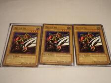 3X Battle Ox SKE-002 - Yugioh Yu Gi Oh! 3 Playset