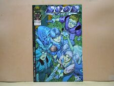 NEON CYBER #1 of 8 1999/00 Image -Dreamwave 9.0 VF/NM Uncertified LOU KANG-a