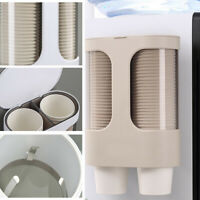 Disposable Paper Cup Holder Dispenser Coffee Drink Stand Bar Cafe Home Buffet
