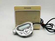 MD0894 Excellent  aiwa MINI DISC PLAYER AM-HX300  White  w/Controller