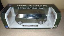 Modellino New Ray Fiat Grande Punto, Esercito Italiano scala 1:24