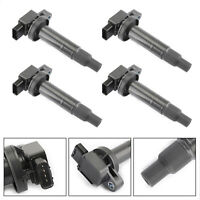 4X Denso Ignition Coil 90919-02240 For Toyota Yaris Prius xA xB Echo 1.5L 00-08,