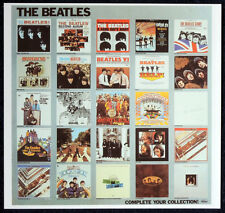 THE BEATLES POSTER PAGE 1981 CAPITOL RECORDS REPRO PROMO POSTER . F24