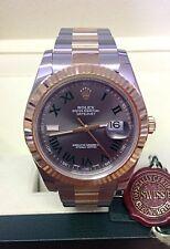 Rolex Datejust II 116333 Bi/Color Wimbledon Dial-Caja y papeleo 2014