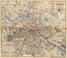 PAINTING CITYSCAPE GAERTNER PAROCHIALSTRASSE BERLIN ART PRINT POSTER LF341