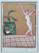 """PETER MAX """"Ballet Story"""" 1981 HAND SIGNED Limited Edition Lithograph"""