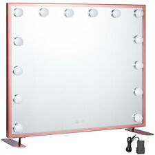 Specchio Trucco Illuminato 600*500CM Smart Touch Make up Da Tavolo Wall Mount