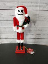 Nightmare Before Christmas Jack Skellington nutcracker Santa Clause Tim Burton