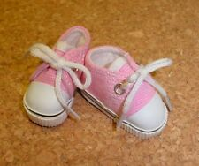 """Doll Shoes, 38mm PINK Sneakers for 11"""" Kaye Wiggs, others"""