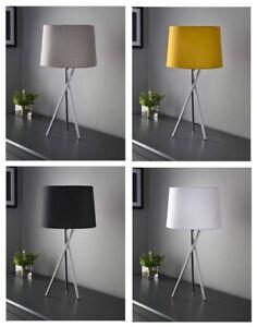 Tripod Table Lamp Tablelamp Contemporary Home Base & Shade