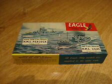 Raro Kit Modelo L47 Eagle-Batalla del Atlántico HMS Peacock & HMS Lila 1/1200