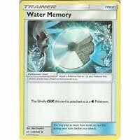 Water Memory 157/181 Uncommon Trainer Card - Pokemon Sun & Moon Team Up SM-9 TCG