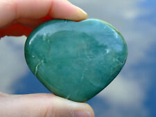 Serpentine Carved Heart Natural Gemstone Crystal Reiki Chakra Healing Stone