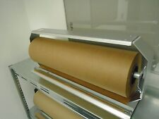 Holder dispenser stretch film kraft wrap paper 24 inches roll  masterpunching
