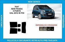 pellicole oscuranti vetri fiat new panda dal 2012 in poi kit posteriore