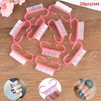 10pcs Nail Clean Brush Finger Care Dust Clean nail art brush nail Manicure tools