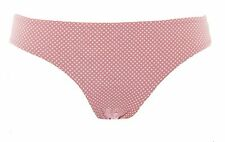 TOPSHOP MATERNITY Peach Taupe/White Swim Lined Bikini Bottoms 44X08Y US 6 NWT