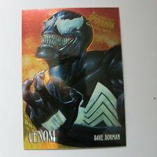 1995 Fleer Ultra Spider-Man Golden Web card 8 of 9 Venom