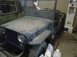 1947 Willys jeep and  body