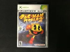 Xbox Pac-Man World 2 Platinum Hits Brand New Factory Sealed Namco