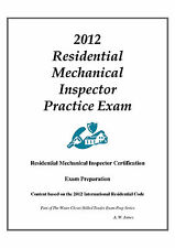 2012 ICC Residential Mech. Inspector Practice Exam on USB Flash Drive