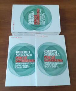 """Roberto Speranza - libro raro """"Perché guariremo""""  Rarissima prima edizione"""