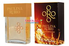 Oro by Paulina Rubio 3.3oz / 100ml Eau De Parfum Spray NIB Sealed For Women