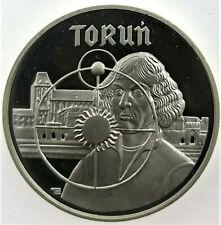 """Poland SILVER coin 5000 Złotych """" Toruń """" 1989"""