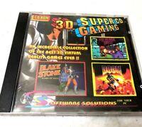 Vintage 3D PC Games Doom Blake Stone Wolfenstein RARE Mint Video Games OOP