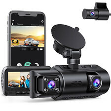 TOGUARD  4K Dual Dash Cam 1080P GPS IR Nachtsicht Video Recorder Kamera 3 Kanal