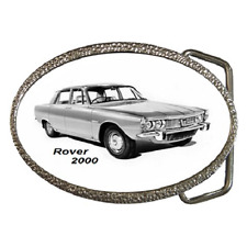 ROVER P6 2000 CLASSIC CAR BELT BUCKLE - GREAT GIFT ITEM