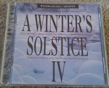 Windham Hill Artists - A Winter's Solstice IV CD Pre-Owned VG Condition 1993