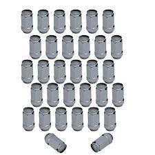 32pc Chrome XL Lug Nuts | 14x1.5 Bulge Acorn | Chevy GMC Hummer Trucks SUV
