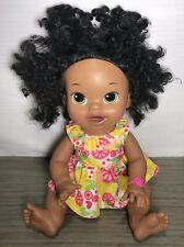 Baby Alive Doll Soft Face Interactive Talks Ethnic Black Hispanic 2014 African