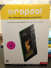 WRAPSOL-UMPAZ003-SO Ultra the Ultimate Screen Protector for Amazon Kindle 3, NEW