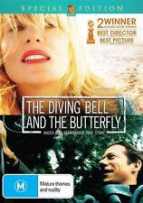 The Diving Bell And The Butterfly (DVD, 2008) French w/Eng. Subs New/ Sealed R4