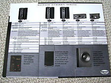 Klipsch Synergy series speaker brochure