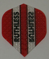 3 Sets (9 Flights) Ruthless Red Embossed (Dimplex) Standard - Free Shipping 4300