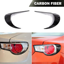 Tail Ights Eyelids Eyebrow Fit For Toyota Gt86 Scion Frs Subaru Brz 12 16 Carbon