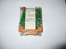 Schleicher KS12 250V DIN Rail Mounted LED Indicator Switching Relay, 6A, Used