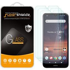 [3-Pack] Supershieldz Tempered Glass Screen Protector for Nokia 3 V