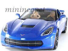 Maisto 31677 2014 Chevrolet Corvette C7 Z51 Stingray 1/18 Diecast Blue