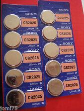 5 X SONY Batterie lithium CR 2025 3V TELECOMMANDE cle vehicule SAV electronique