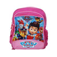 PINK PAW PUPPY BOYS KIDS PRESCHOOL SCHOOL SHOULDER BAG BACKPACK STATIONERY CHILD
