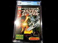 Silver Surfer #v1 #12 - CGC 7.5 Lee & Buscema Classic! Abomination Appearance!