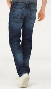 Herren Jeans von Cross Antonio blue used W40 / L34