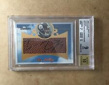 2004 Roethlisberger Fleer Sweet Sigs Auto Copper Ser #/200 Rookie BGS 9 Auto 10