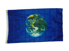 2x3 Earth Planet Flag 2'x3' House Banner Grommets fade resistant outdoor