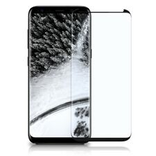 Full Screen Panzer Glasfolie Samsung Galaxy S8 Plus Display Schutz Folie Curved