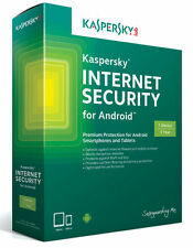 Kaspersky Anti-virus 2018 for Android 1User/Devices / 1Year License